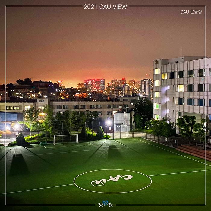 서울캠퍼스 운동장 야경